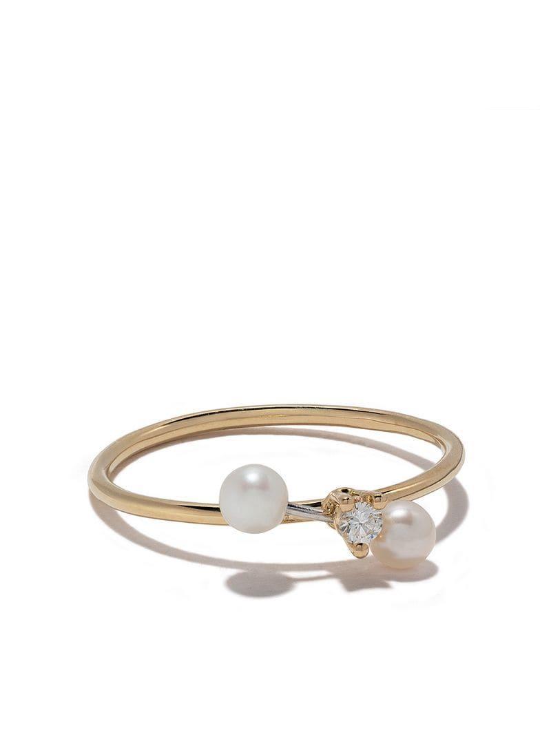 47ecb943a2b9 Delfina Delettrez. Anillo Two In One en oro y oro blanco 18kt con diamantes  ...
