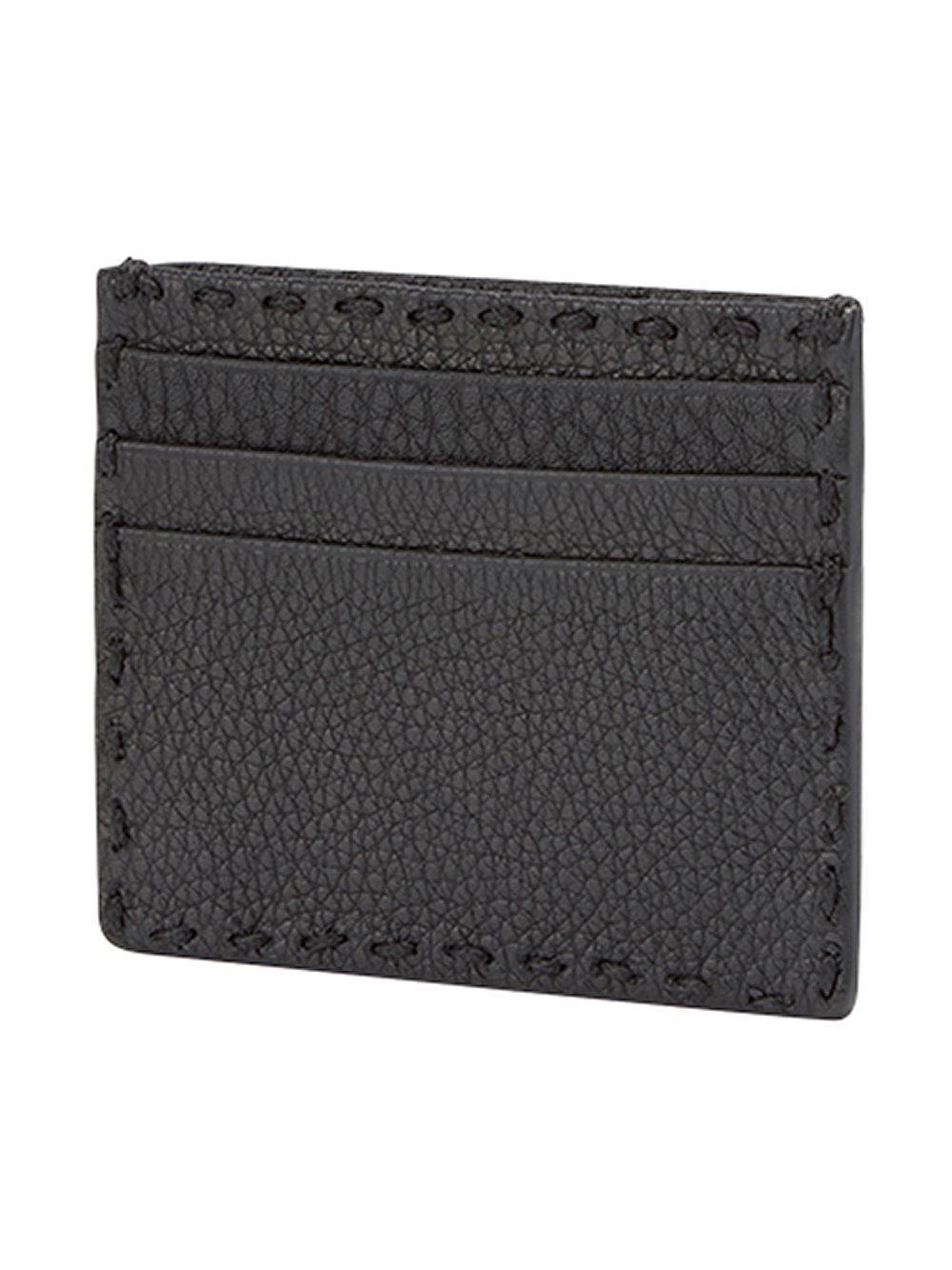 3580b4fe2656 Lyst - Porte-cartes Selleria Fendi pour homme en coloris Noir