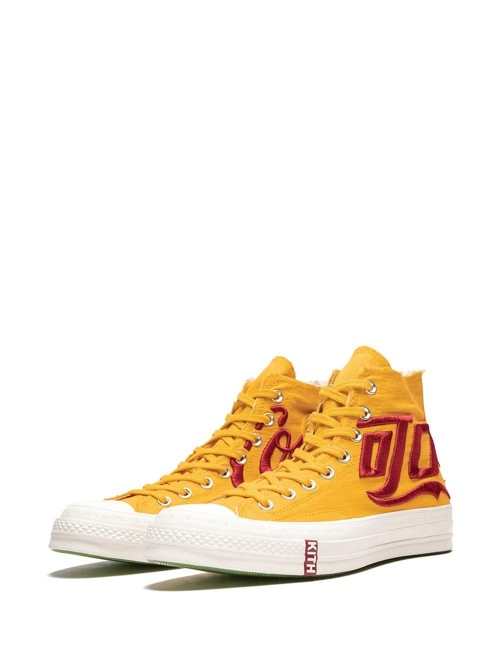 2b7eced6b16c Converse - Yellow Kith X Coca Cola 1970 All Star High-top Sneakers for Men.  View fullscreen