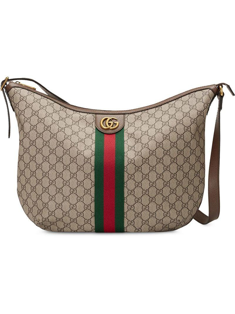 2884ab87a61 Gucci Ophidia GG Shoulder Bag in Brown for Men - Lyst