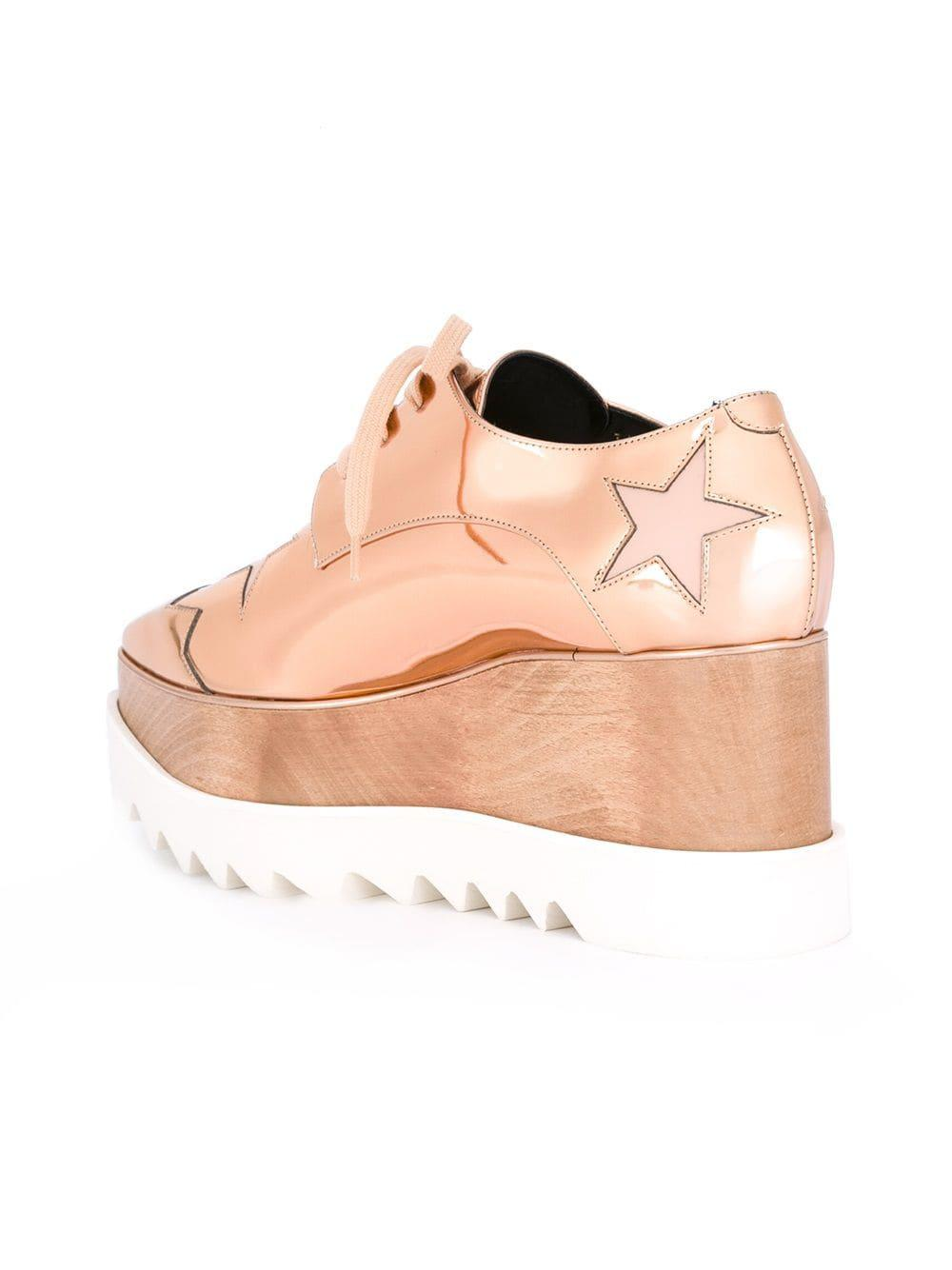 7b2d8b09dbe Lyst - Stella Mccartney  elyse  Shoes in Pink - Save 26.66666666666667%