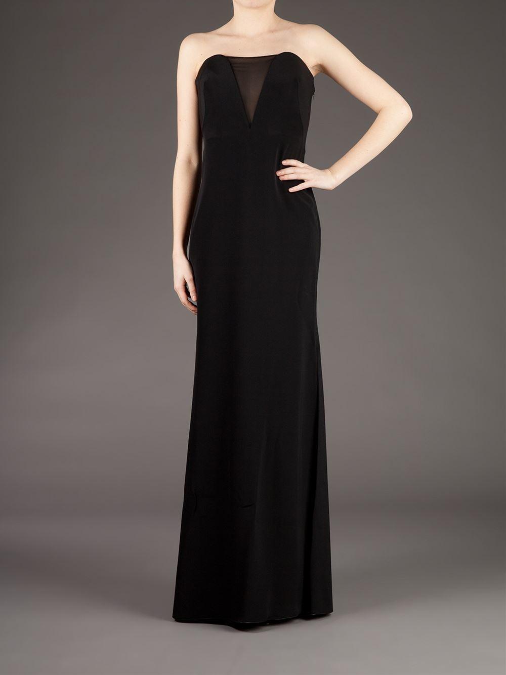 Emilio Pucci Semi Sheer Dress Women Silk Polyamide