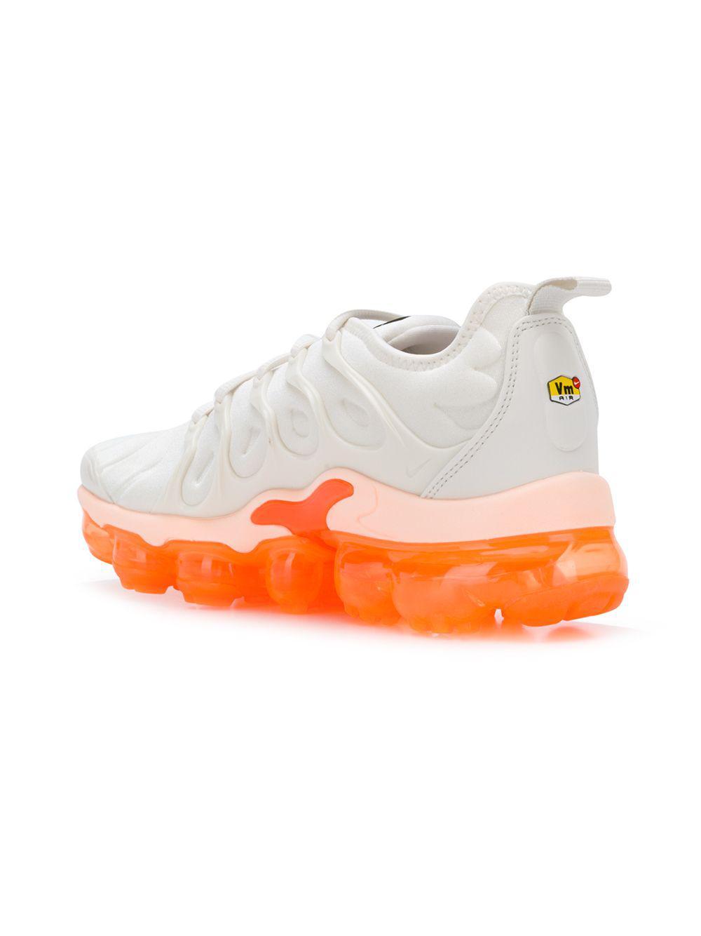 57cad1d5e8305 ... shopping nike white air vapormax plus sneakers lyst. view fullscreen  d6d64 e8f2e