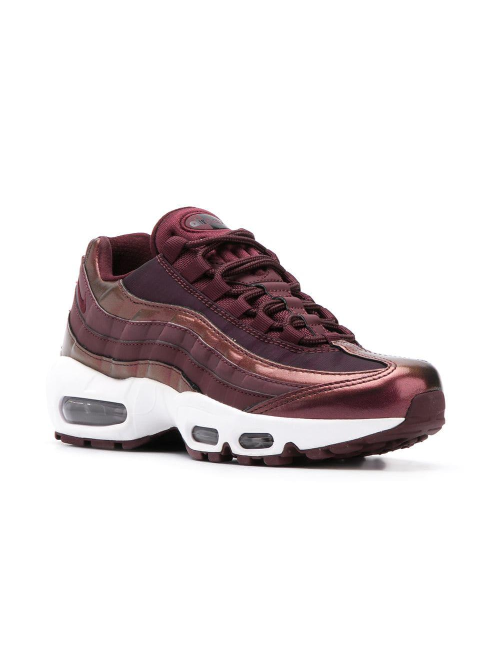 best sneakers ae674 b902a Lyst - Nike Air Max 95 Lux Sneakers in Purple