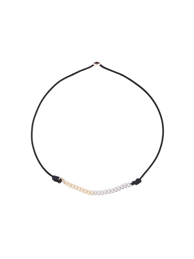 530Park Rope Chain Cord bracelet - Metallic Vbrl63Gf