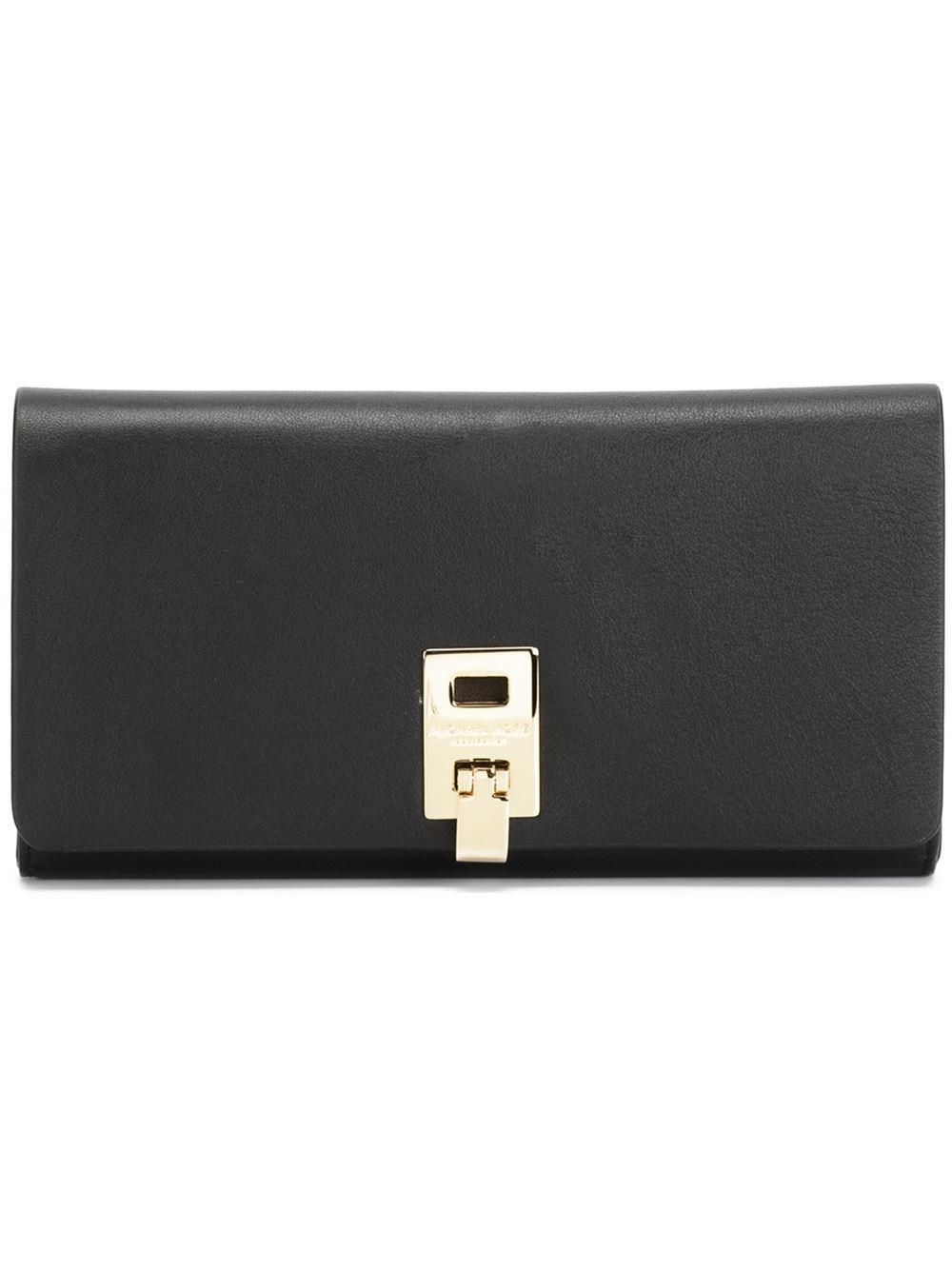 e990db2e77ec Lyst - Michael Kors  miranda  Wallet in Black