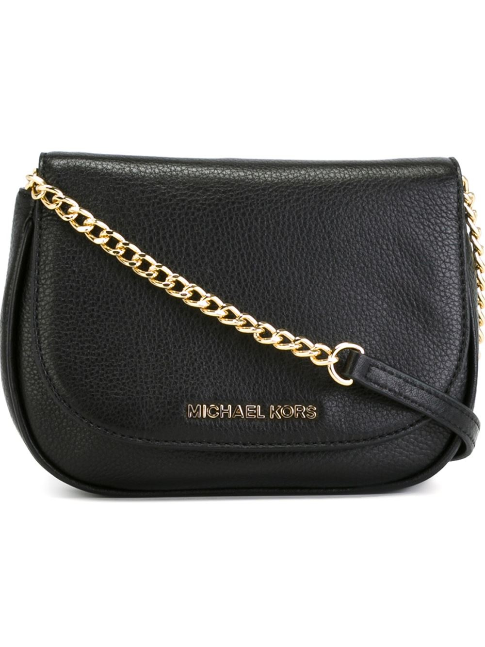 8a19eedb17a8 Lyst - MICHAEL Michael Kors Small  bedford  Crossbody Bag in Black