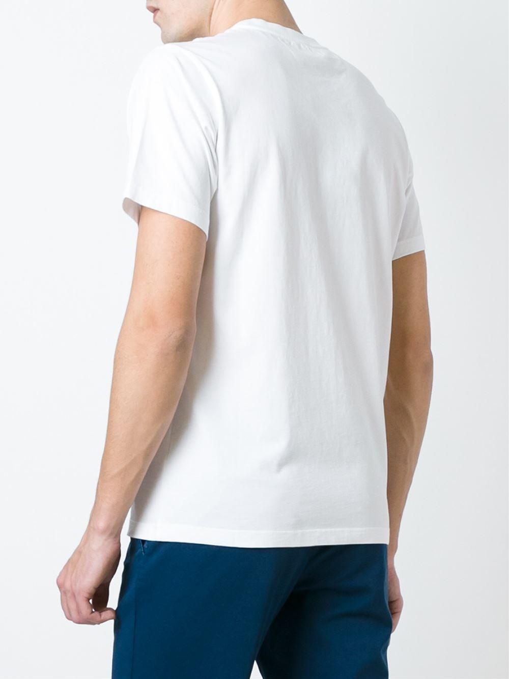 lyst kenzo paris t shirt men cotton m in white. Black Bedroom Furniture Sets. Home Design Ideas
