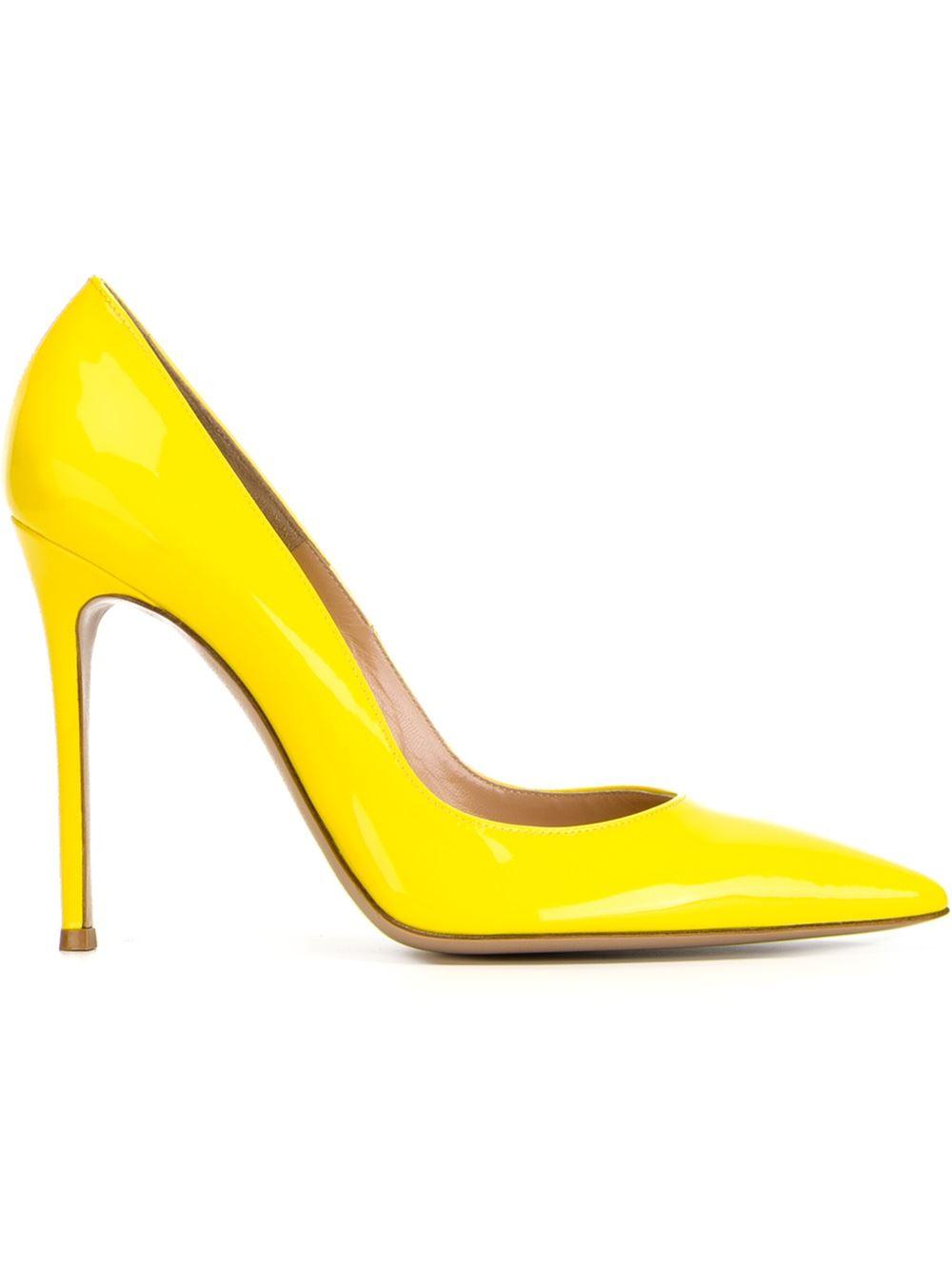 Yellow High Heels Shoes Uk