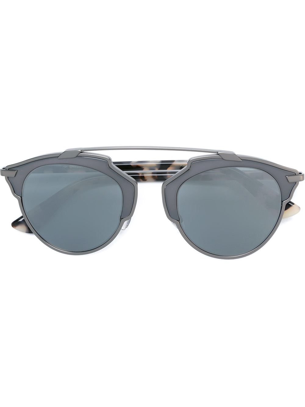 Glasses Frame Dior : Dior Round Frame Sunglasses in Brown Lyst