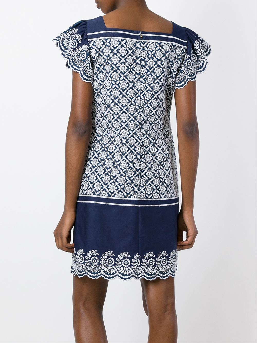 Lyst philosophy di lorenzo serafini embroidered lace