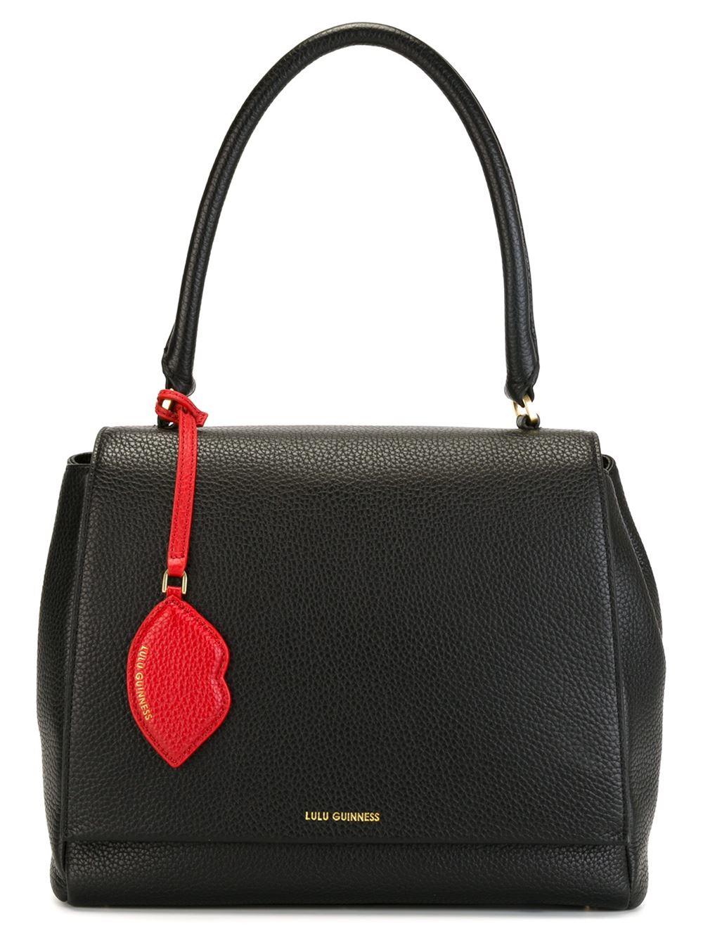 Lulu guinness 'rita' Handbag in Black