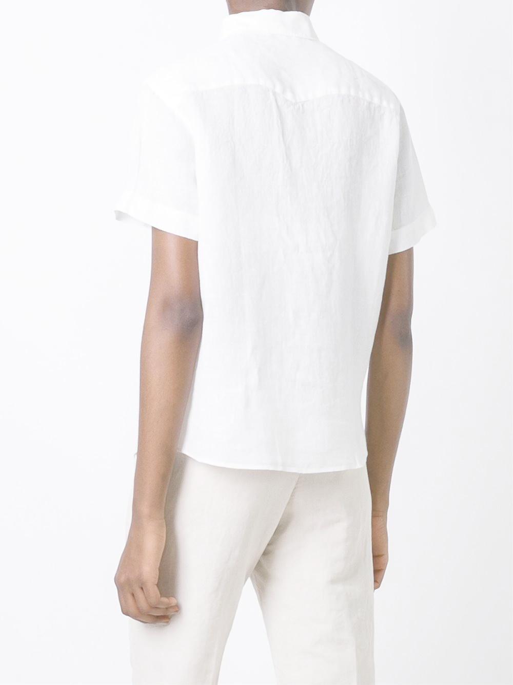 Massimo Alba Lali Shirt In White Lyst