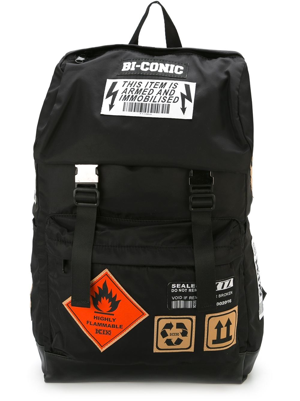 Ktz Patch Backpack In Black Lyst