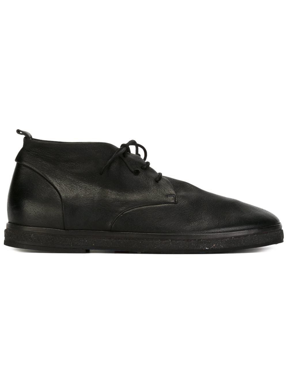 Marsu00e8ll Flat Sole Boots In Black For Men | Lyst