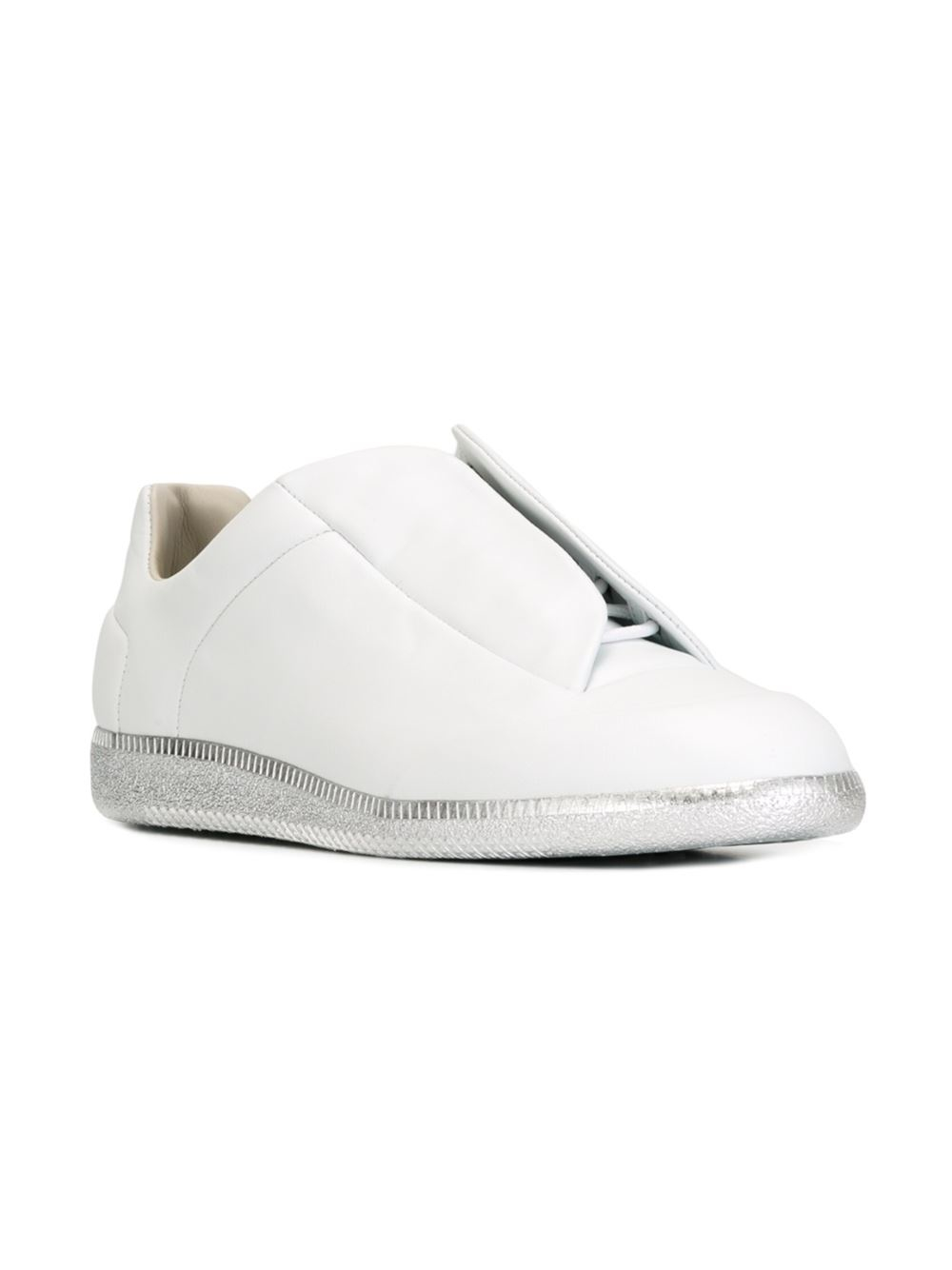maison margiela 39 future 39 sneakers in white for men lyst. Black Bedroom Furniture Sets. Home Design Ideas