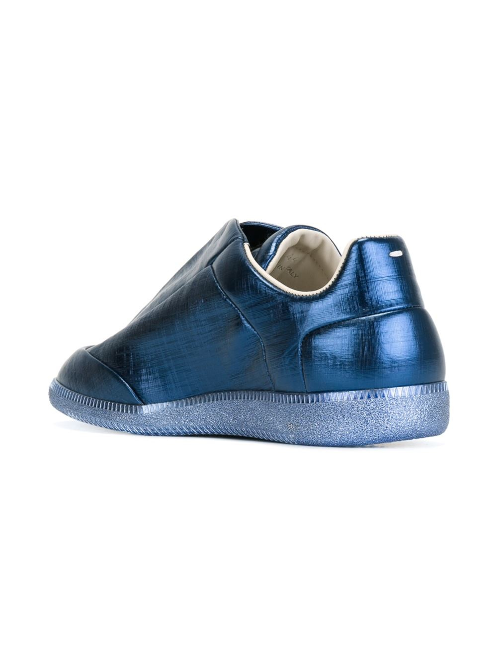 maison margiela 39 future 39 sneakers in blue for men lyst. Black Bedroom Furniture Sets. Home Design Ideas