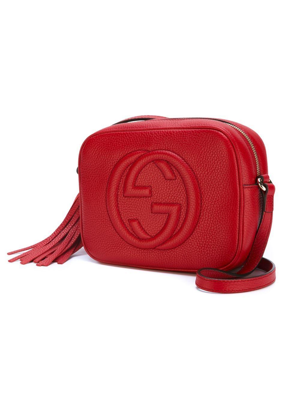 Gucci Soho Bag Red Ahoy Comics