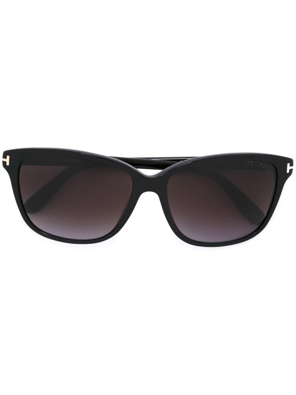 tom ford 39 dana 39 sunglasses in black lyst. Black Bedroom Furniture Sets. Home Design Ideas