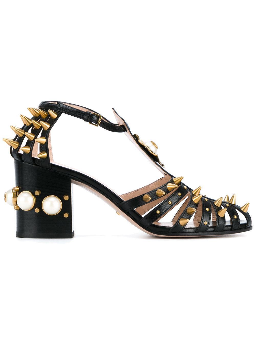 Versace high heel leather boots soaking wet - 3 6