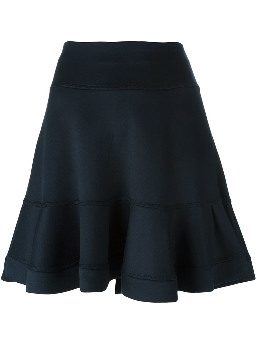 chlo 233 chlo 233 flared skirt in blue lyst