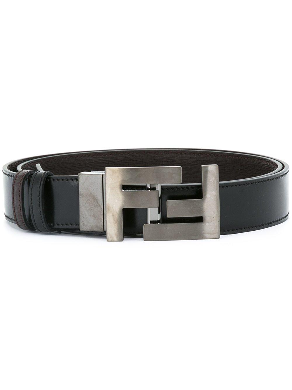 Fendi - Classic Belt - Men - Calf Leather metal (other . 53afa62e19db5
