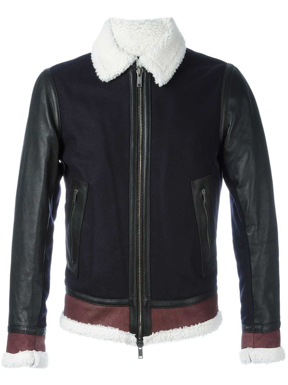 River Island Wax Jacket