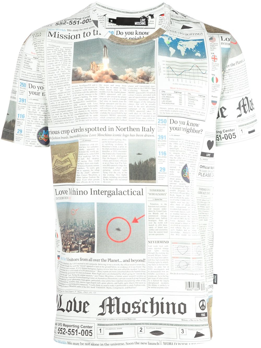 Moschino Men T Shirts