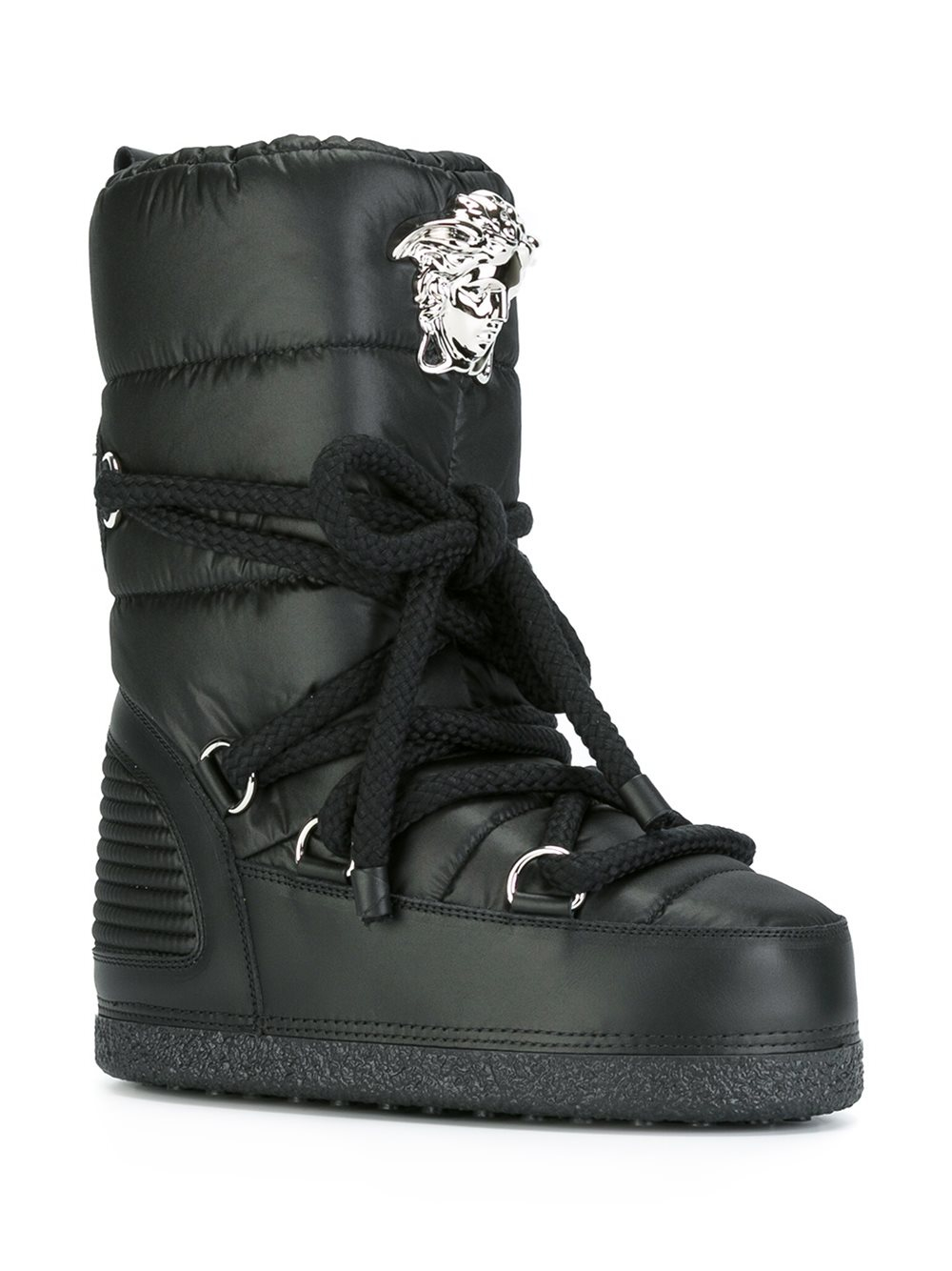 Versace 'palazzo' Snow Boots in Black for Men | Lyst
