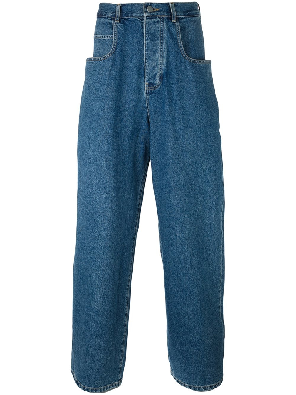 Martine rose Jean Wide Leg Jeans in Blue for Men