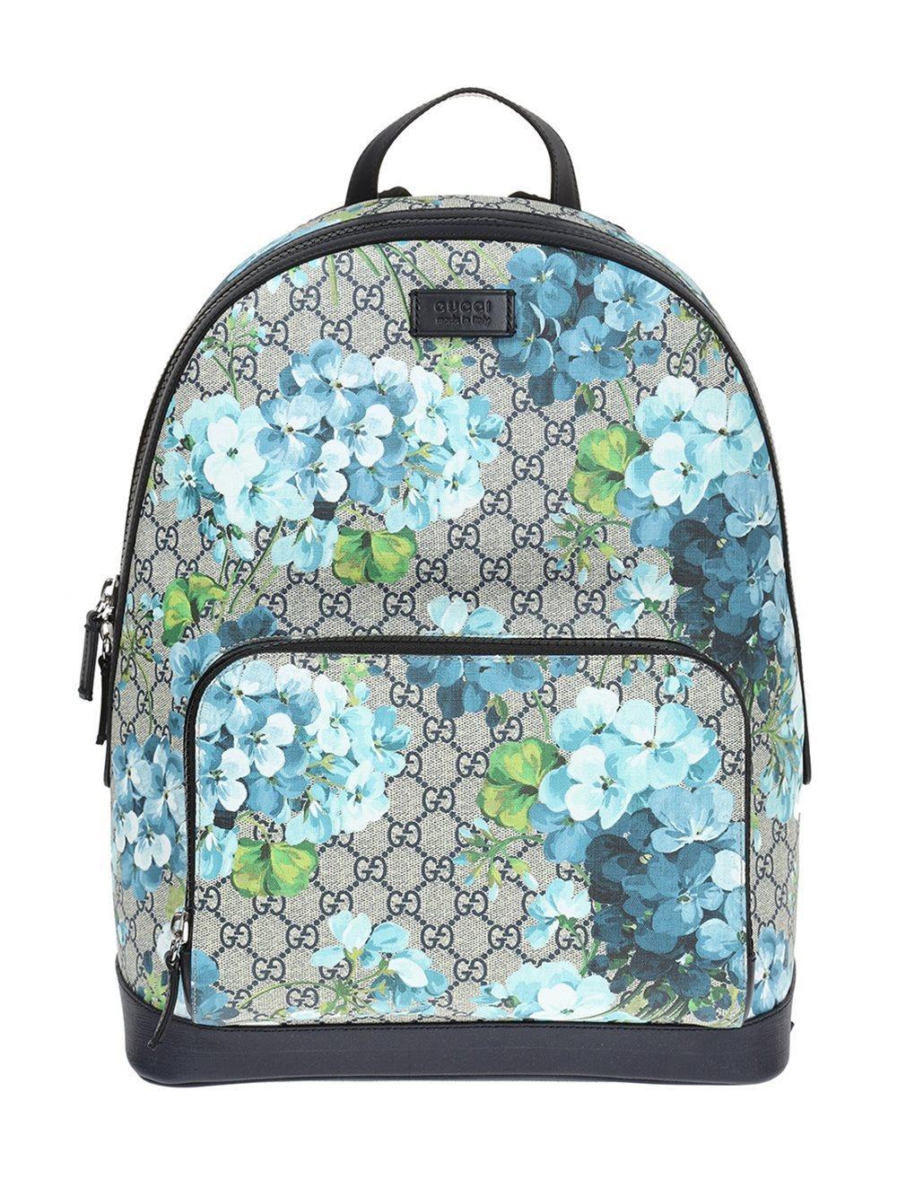 dda591d101f Lyst - Gucci Gg Blooms Backpack