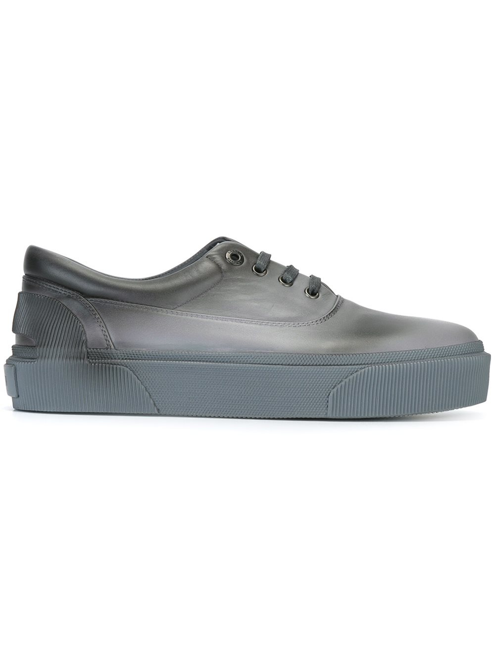 lanvin low top spray paint sneakers in gray for men lyst. Black Bedroom Furniture Sets. Home Design Ideas
