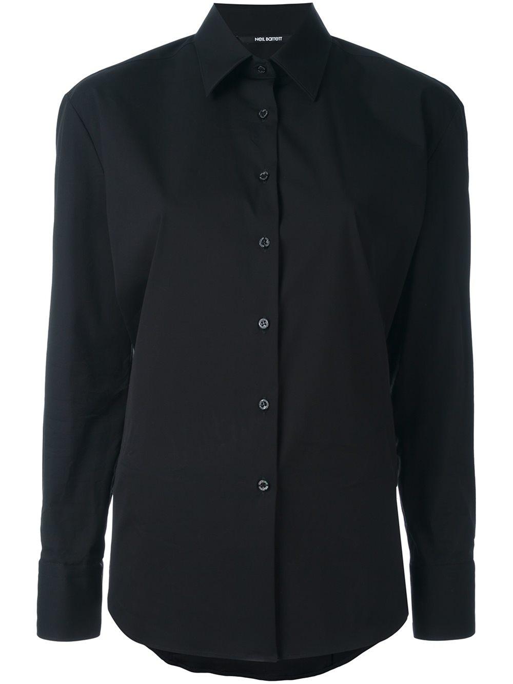 Lyst Neil Barrett Classic Button Down Shirt Women