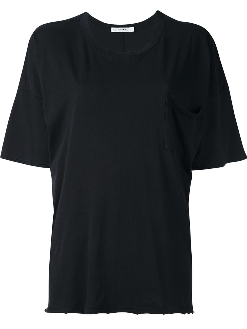 Rag Bone Relaxed Fit T Shirt In Black Lyst