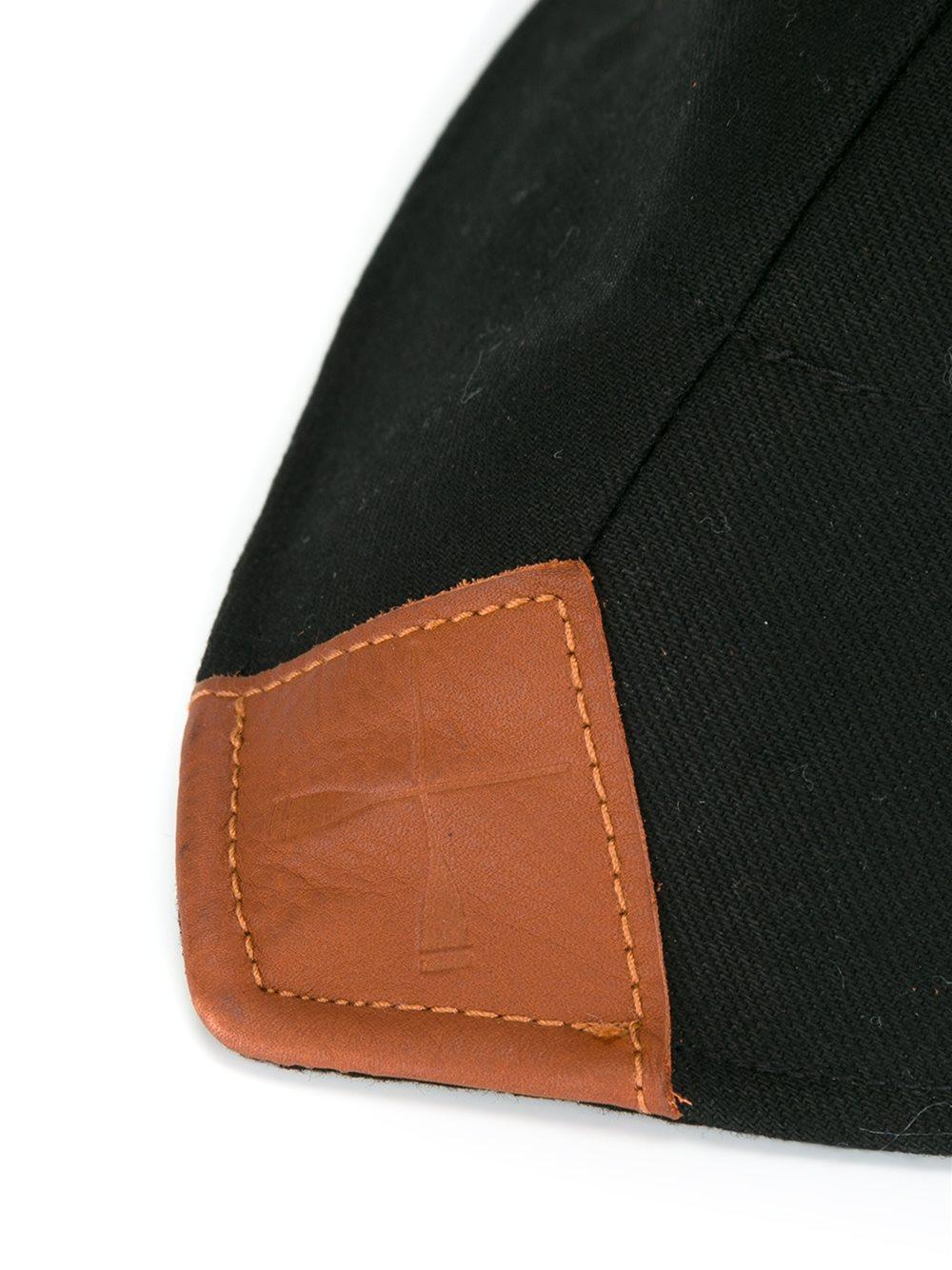 beton cire 39 chalutier 39 hat in black lyst. Black Bedroom Furniture Sets. Home Design Ideas