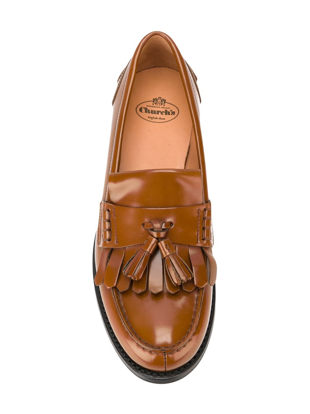 Churchs Omega Leather Loafers In Brown Lyst