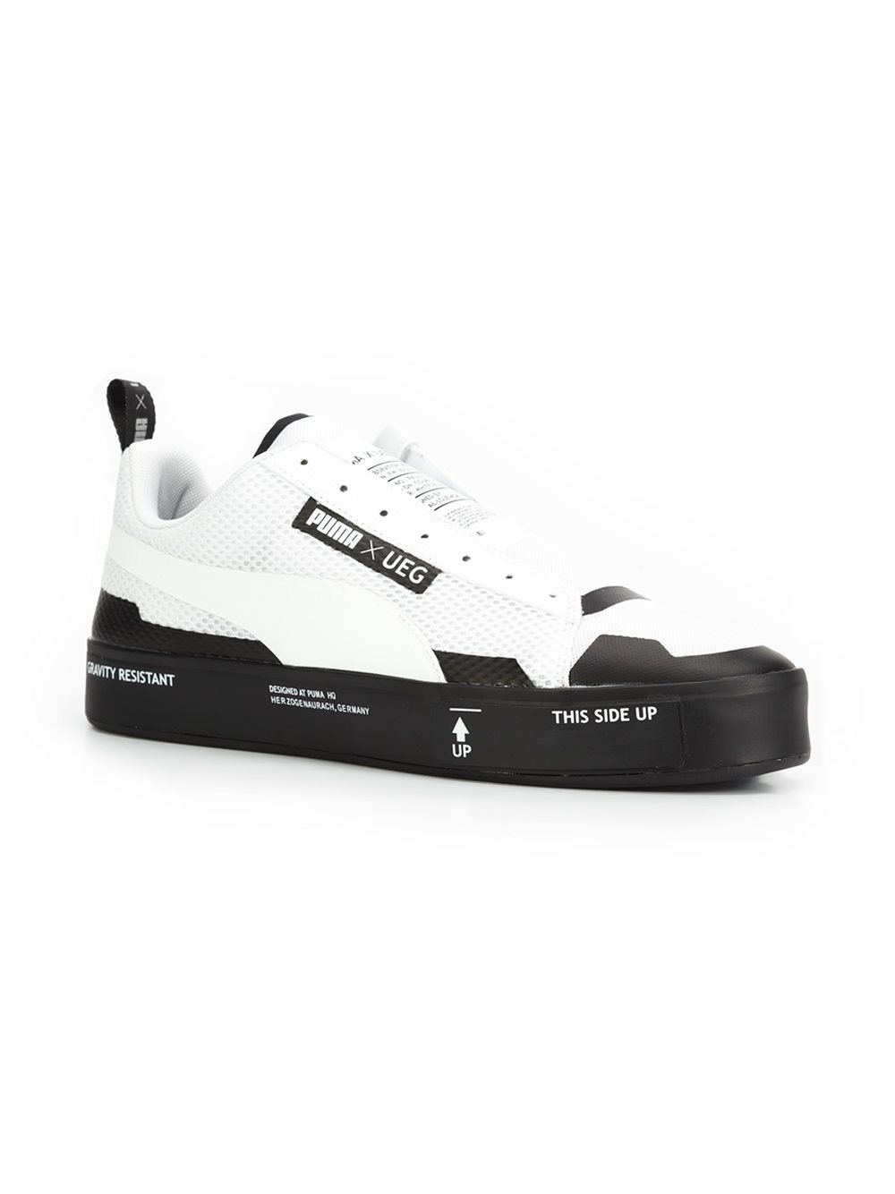 1c8104ce4fd3 Lyst - PUMA  ueg X Court Play  Laceless Sneakers in White for Men