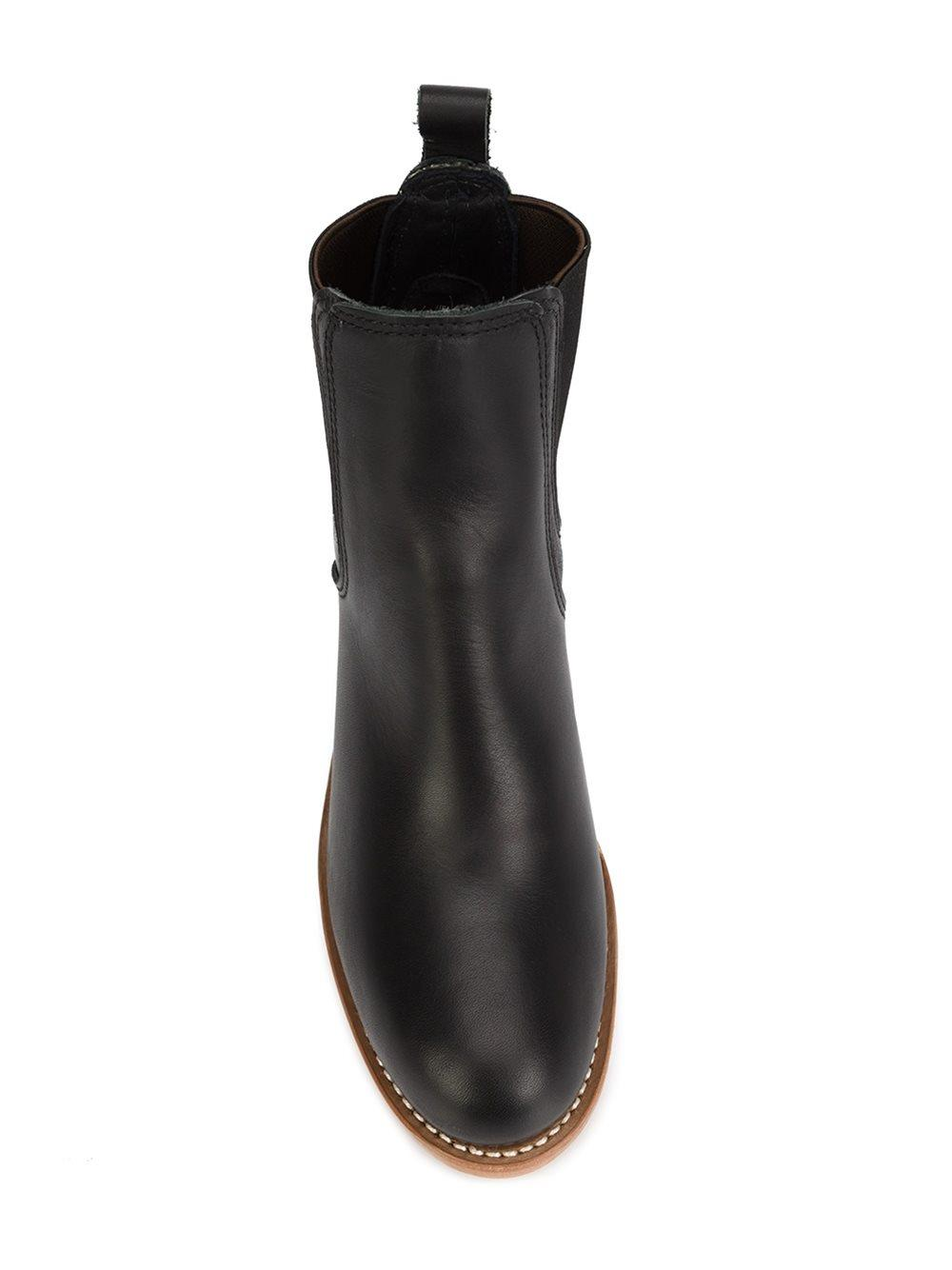 Lyst Red Wing Chelsea Boots In Black