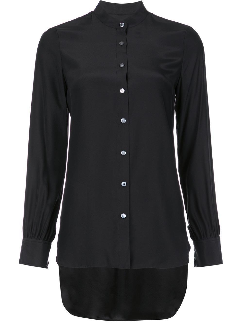 Lyst Frame Button Down Shirt In Black For Men