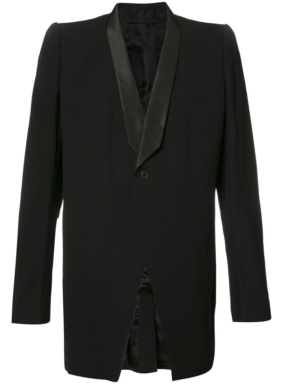 rick owens oversized blazer in black for men lyst. Black Bedroom Furniture Sets. Home Design Ideas