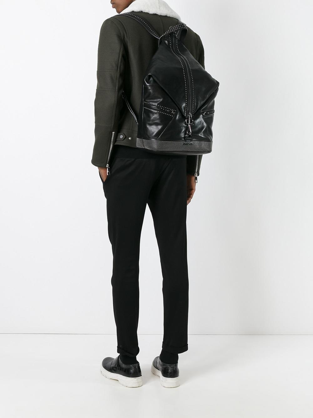 Lyst jimmy choo fitzroy backpack in black for men for Jimmy choo mens shirts