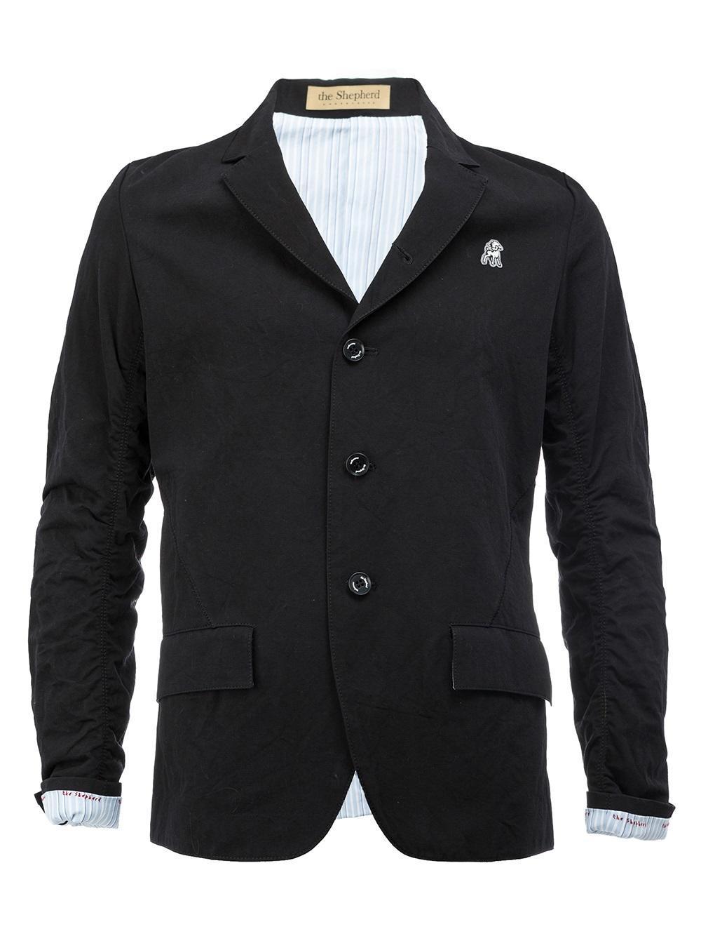 Lyst Undercover The Shepherd Blazer In Black For Men