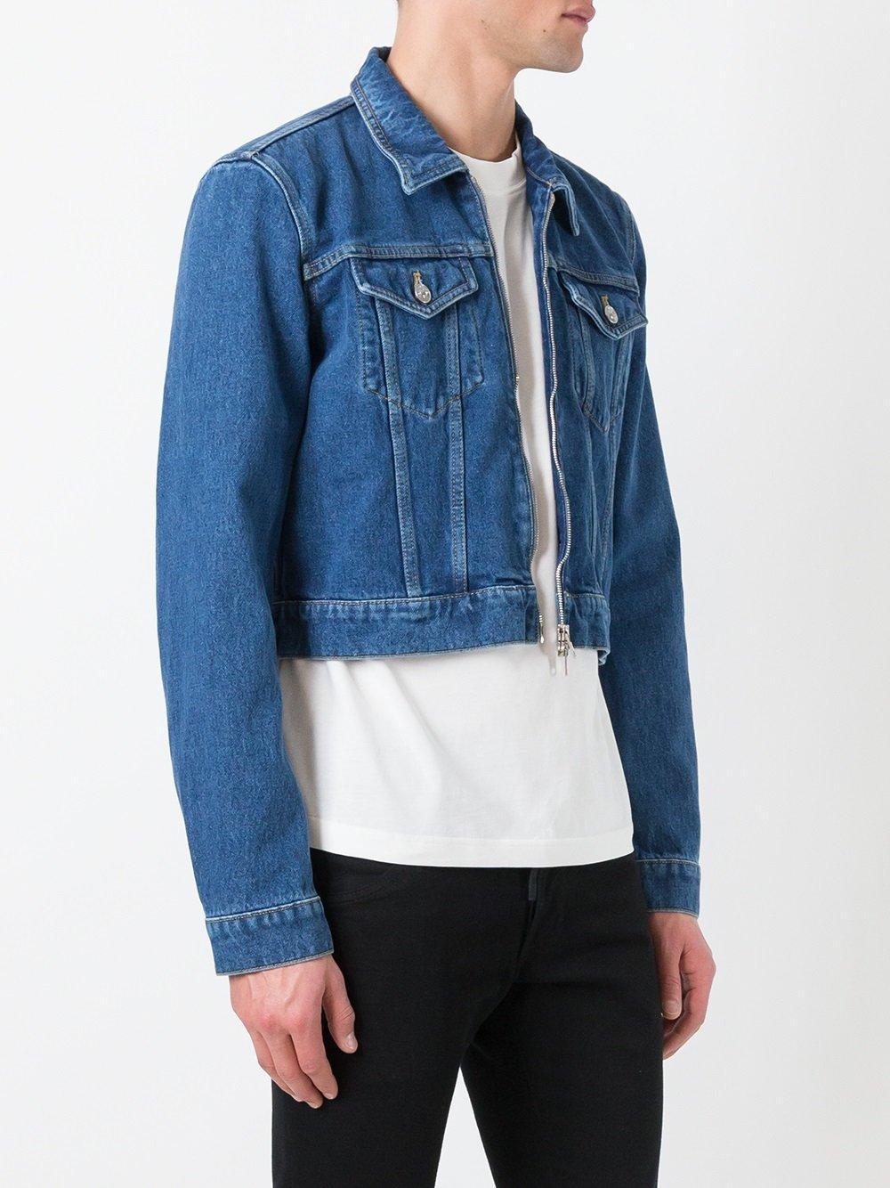 b1d9149dde Balenciaga - Cropped Denim Jacket - Men - Cotton - 48 in Blue for Men