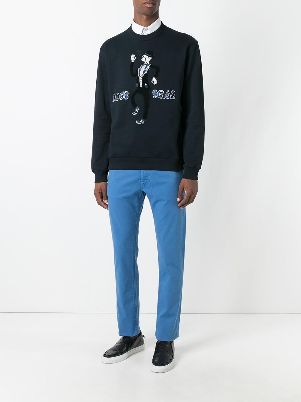 Lyst jacob cohen straight leg jeans in blue for men - Jacob cohen denim ...