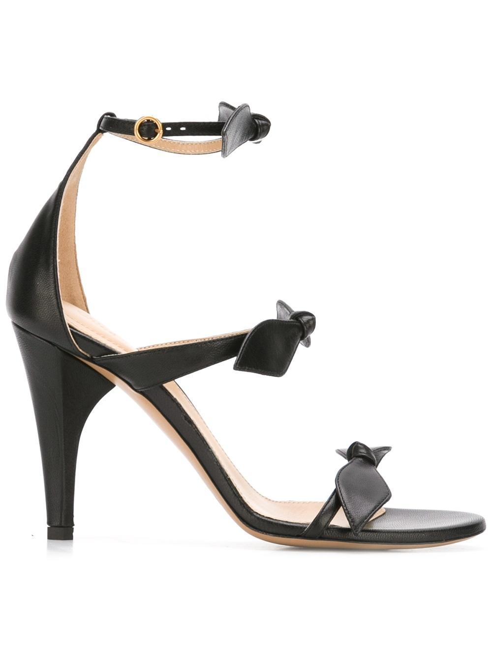 Chlo 233 Mike Sandals In Black Lyst