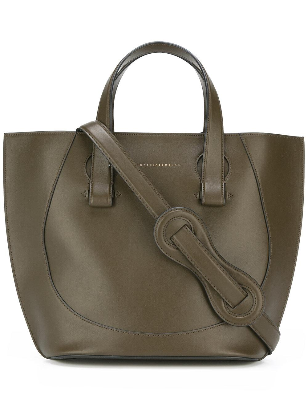 Victoria beckham Small Tulip Tote in Green