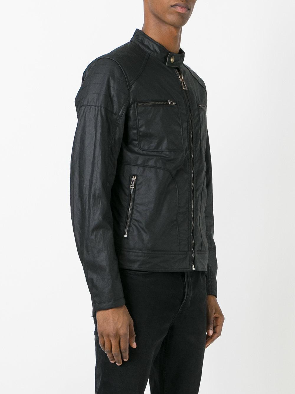 lyst belstaff weybridge 2017 jacket in black for men. Black Bedroom Furniture Sets. Home Design Ideas
