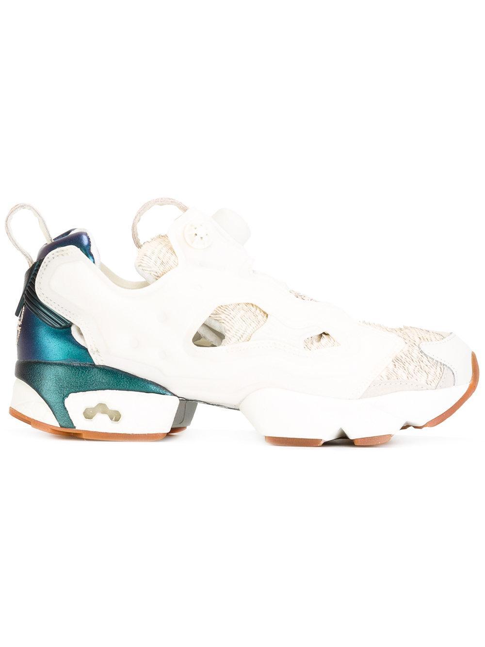 Lyst - Reebok Instapump Fury Trainers in White 02848ef16