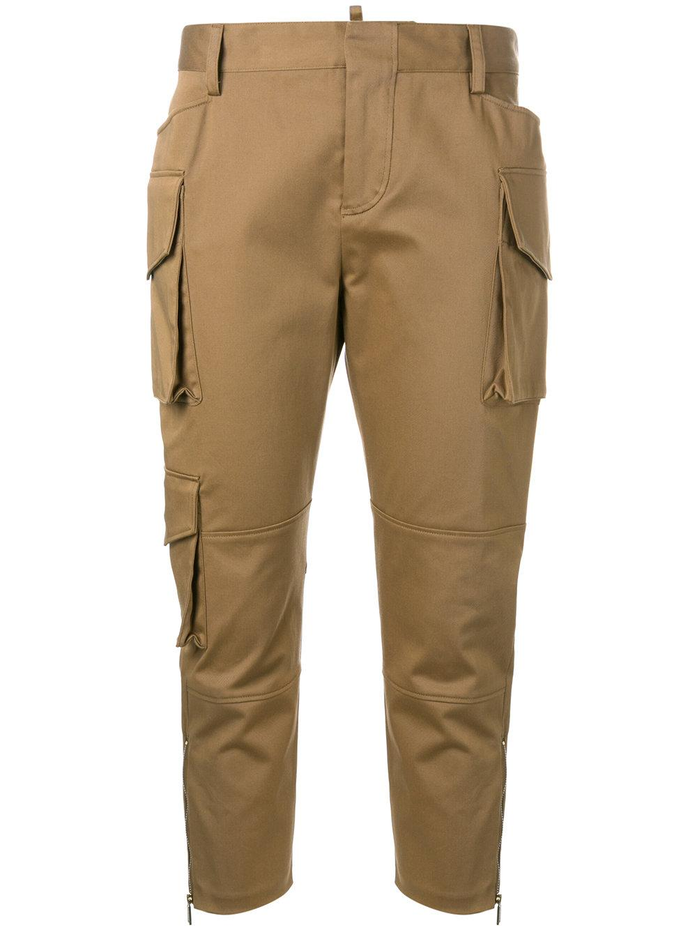 Popular Cargo Pants Brown - Pi Pants