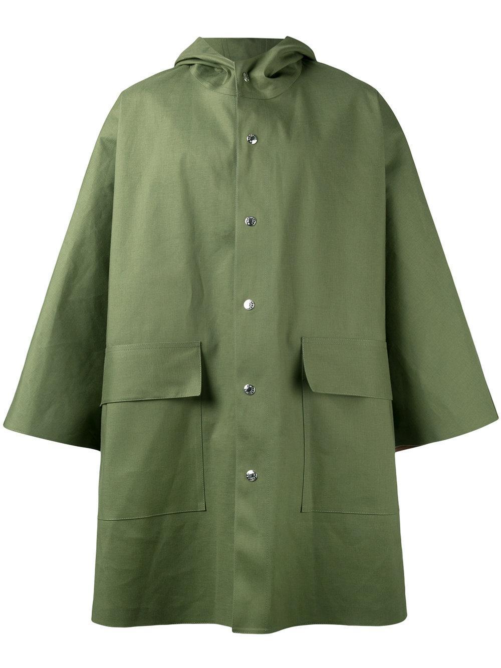 Mackintosh Oversized Raincoat in Green for Men | Lyst